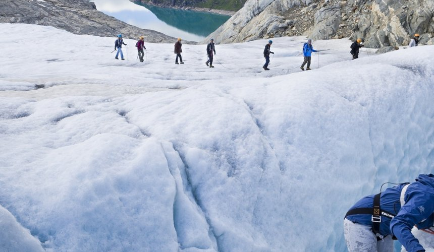 Ice Hike Glacier Grey Torres del Paine