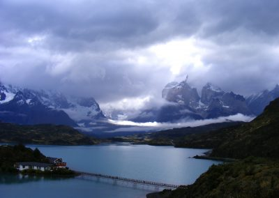 torres del paine patagonia travel hostería pehoe