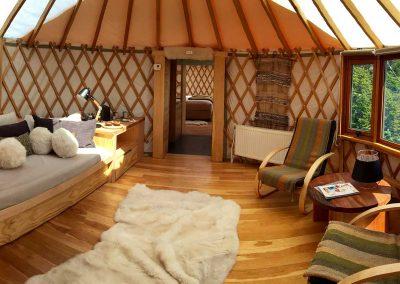 Patagonia Camp Yurts