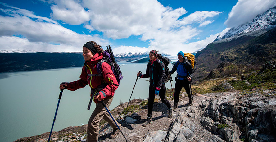 Torres del Paine Itineraries Landing