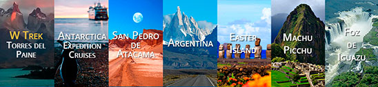 Torres del Paine Home Landing Page